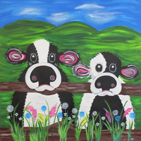 Quirky Cows